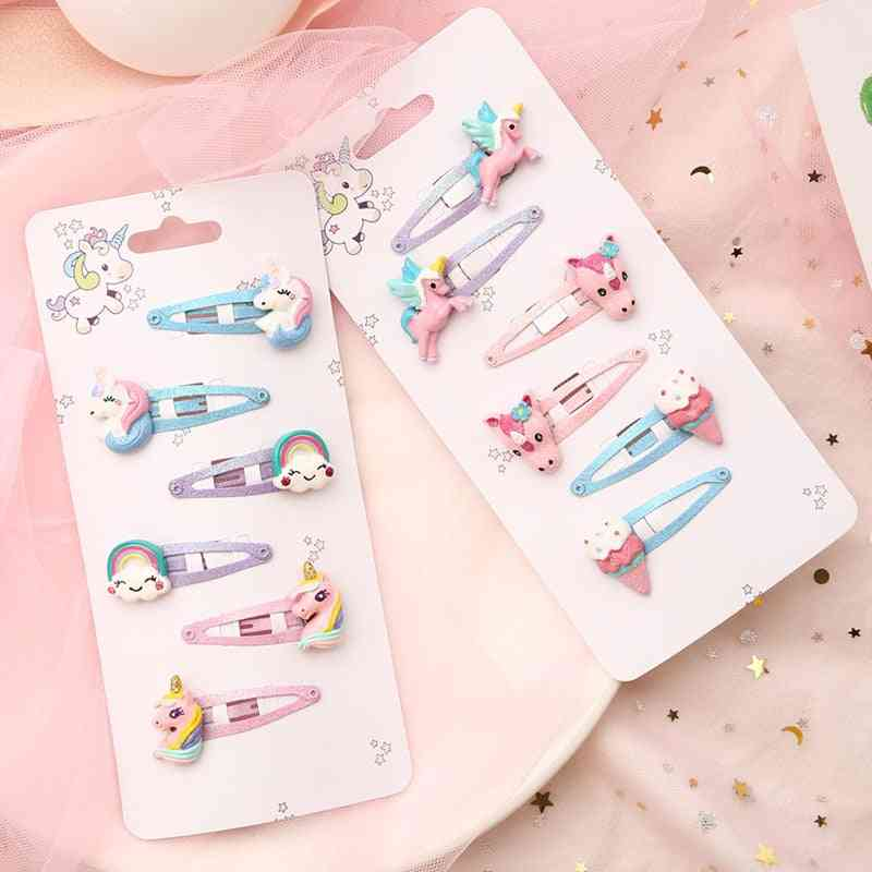 Little Horse & Fruit Hair Accessories, Cartoon Lovely Baby Clips Bands