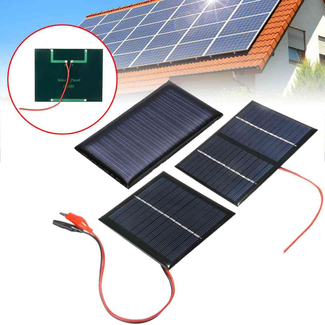 Portable Solar Cell Panel System -9v 3w