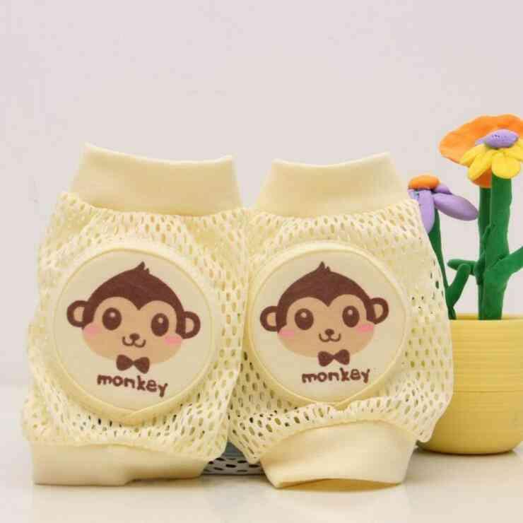 Kids Girl / Boy Crawling Elbow Baby Knee Pads - Warmer Cushion Legging Infants
