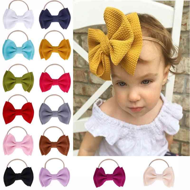 Baby Headband, Big Bow Knot Hairband Turban