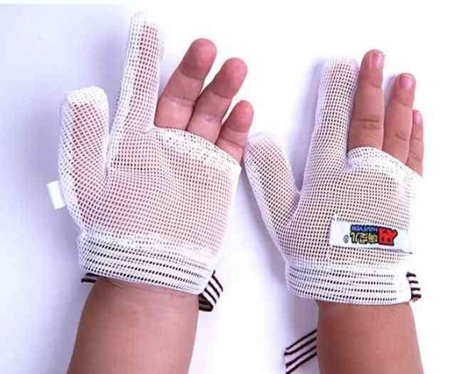Breathable Net Hand Gloves And Mittens For Newborn