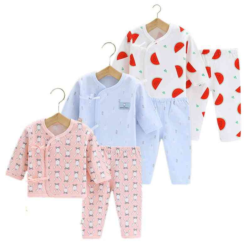 Newborn Baby Clothes Four Seasons Underwear Pure Cotton Sleep Suit For And Sleepwear Pajamas Infant