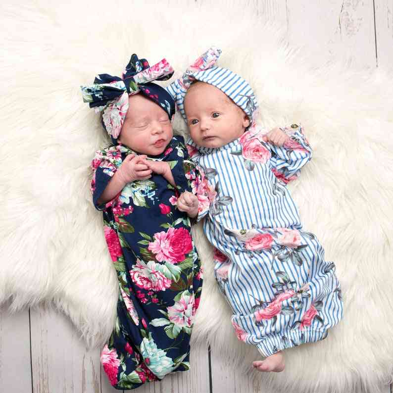 Newborn Baby Sleeping Bags Infant Blanket Swaddle Wrap Gown Outfits Sets