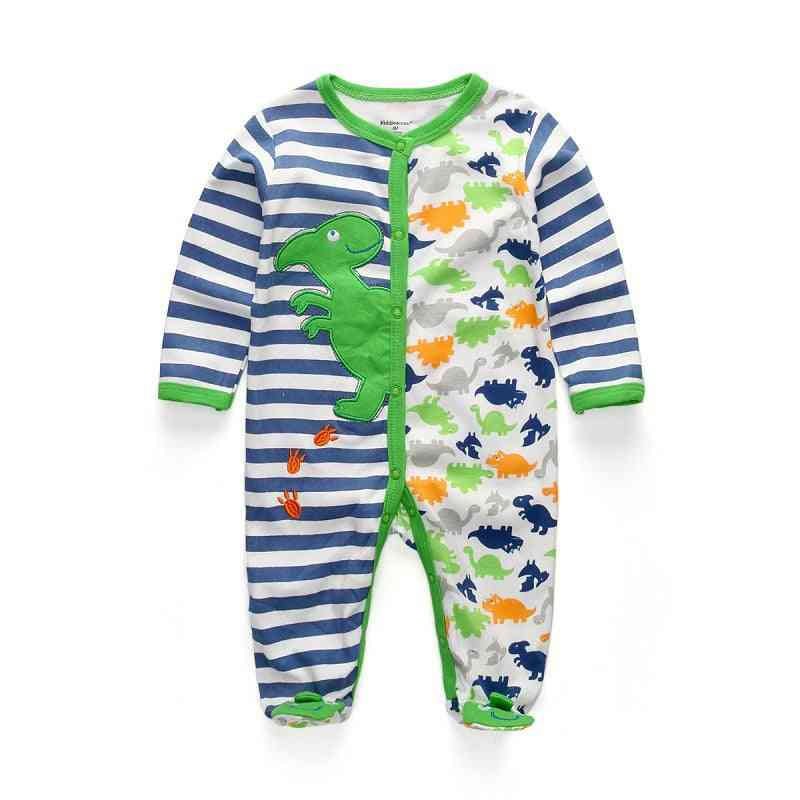 Newborn Babies Sleepwear With Long Sleeves Pajamas Clothes