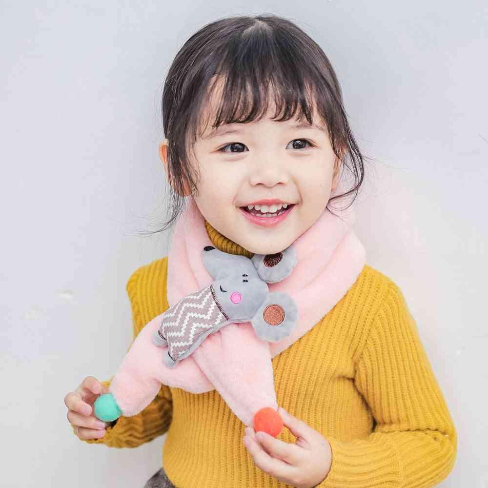 Baby Cute Cartoon Mouse -warm Scarves Cheap Stuff
