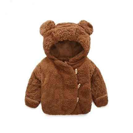 3m-2y Winter Hooded Jacket- Bear Thicken Cloth