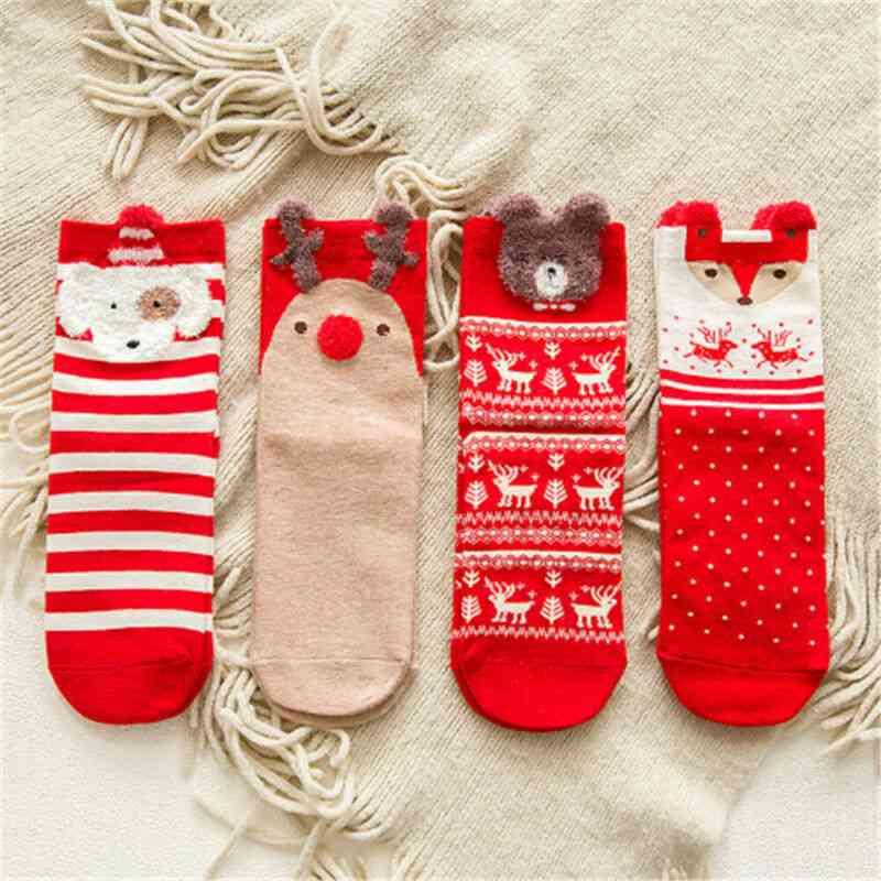 Sweet Cute Cartoon Baby Socks