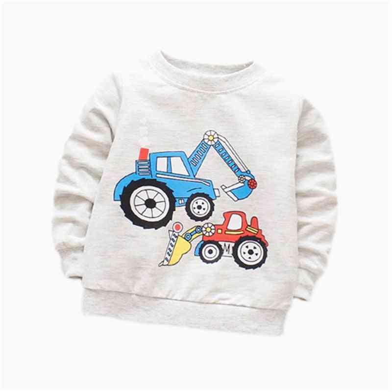 Baby Boy T-shirt, Long Sleeve, Cartoon Printed