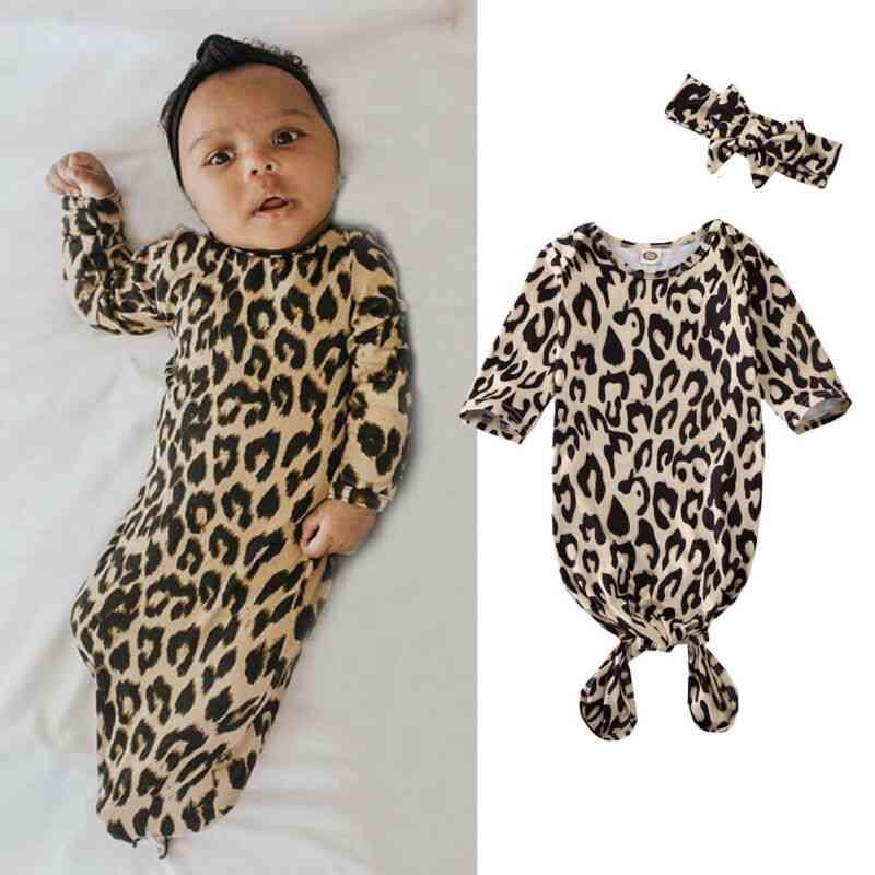 Leopard Pattern Blanket Sleeping Bag