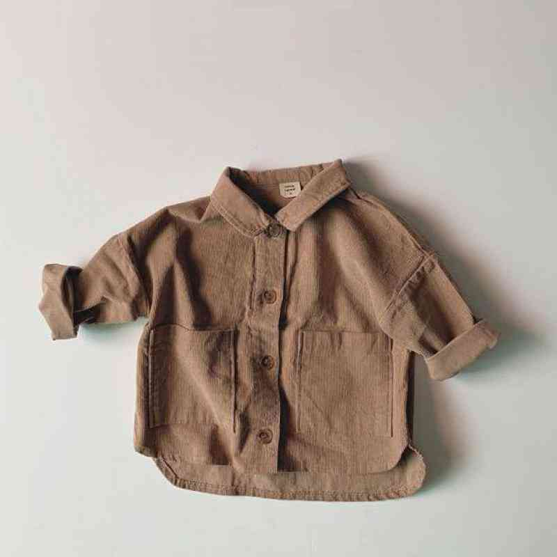 Baby Large Pocket Shirts, Coat Jacket Clothes Outerwear