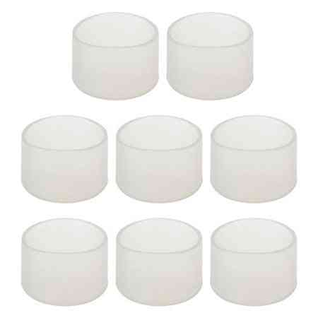 Circle Silicone Cover Protector- Transparent  Furniture Legs