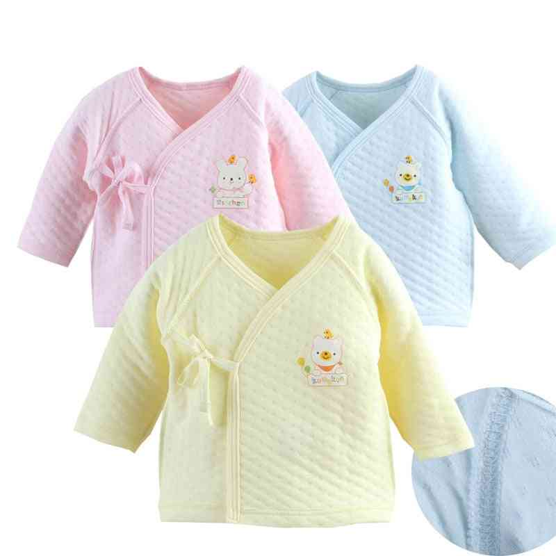 Newborn Jumpsuit Long Sleeve Cotton Pajamas - Rompers Baby Clothes For Boy / Girl