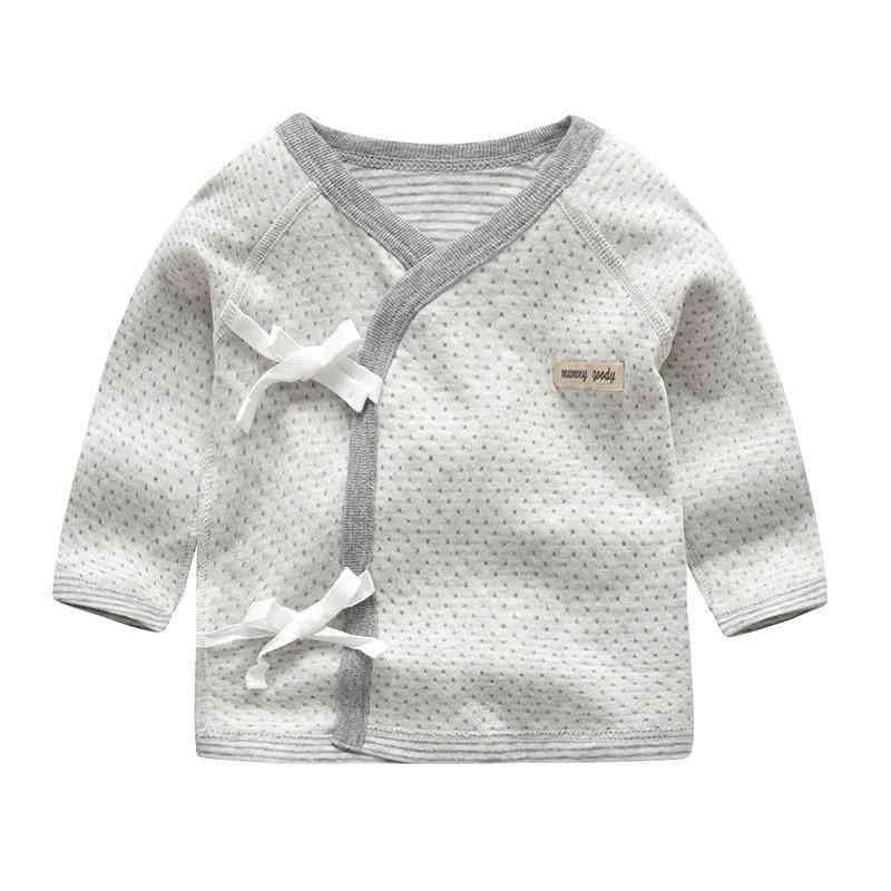 Baby/ Shirt, Cotton, Long Sleeve Shirt, V-neck Sleepwear