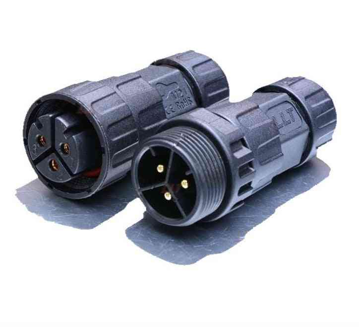 3pin-m25 Male Or Female Connector For  Sg Series Micro Inverter