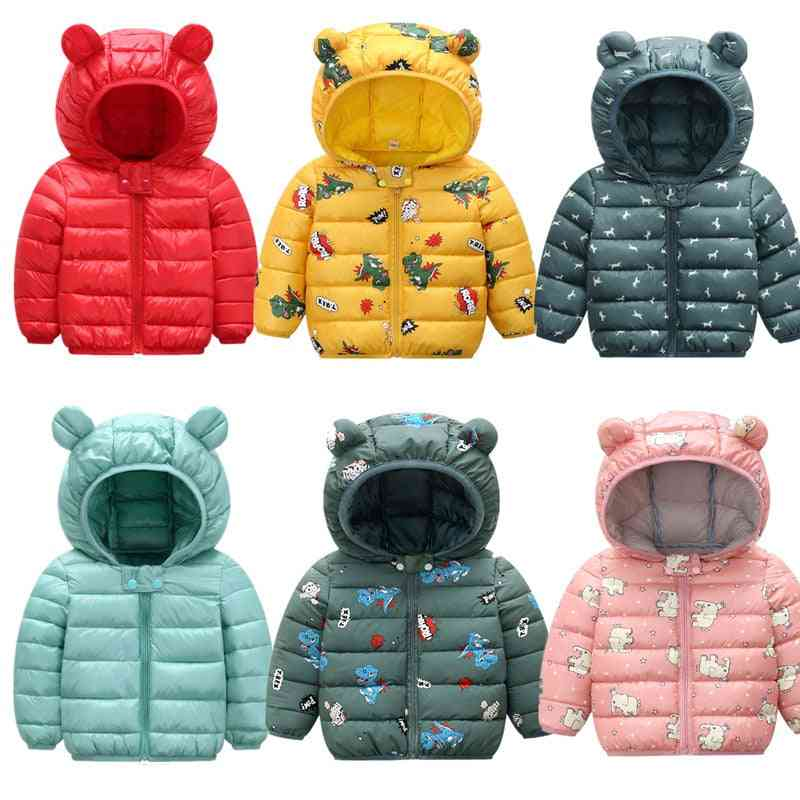 Winter Clothing, Thin And Light Cotton Down Jacket Baby