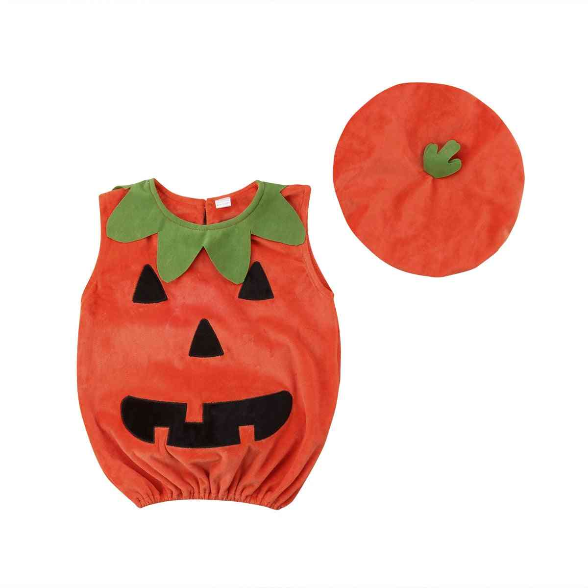 Microfiber Baby  Pumpkin Suit -top Blouse
