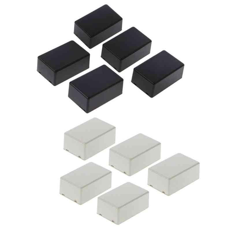 5pcs Plastic Electronic Project Box , Enclosure Instrument Case