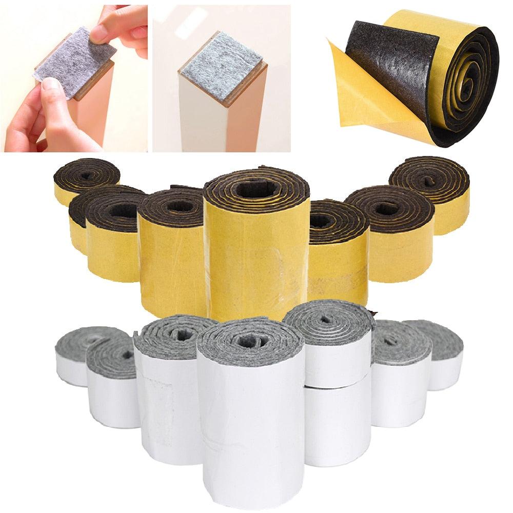 Self-adhesive Felt Furniture Pad Roll, Wear Resisting Protecter