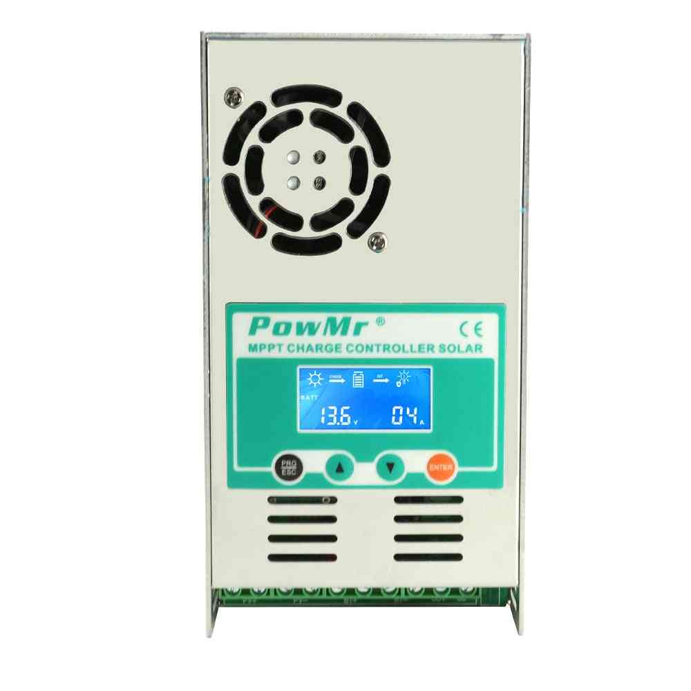 Mppt Solar Charge Controller With Lcd  Backlight