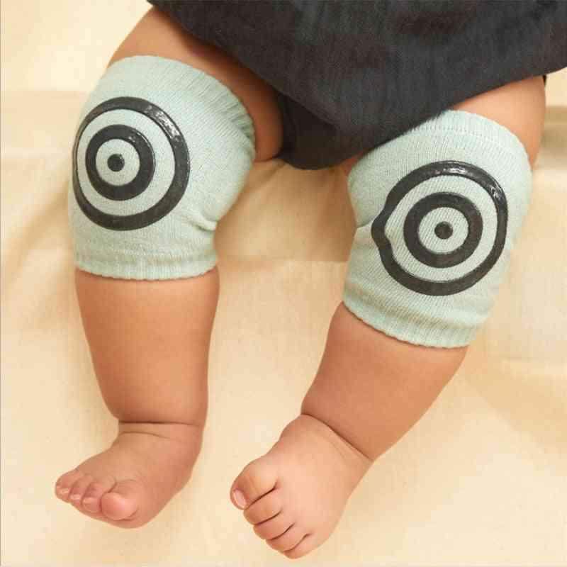 Newborn Baby Safety Cotton Crawling Socks, Leg Knee Pad Protector