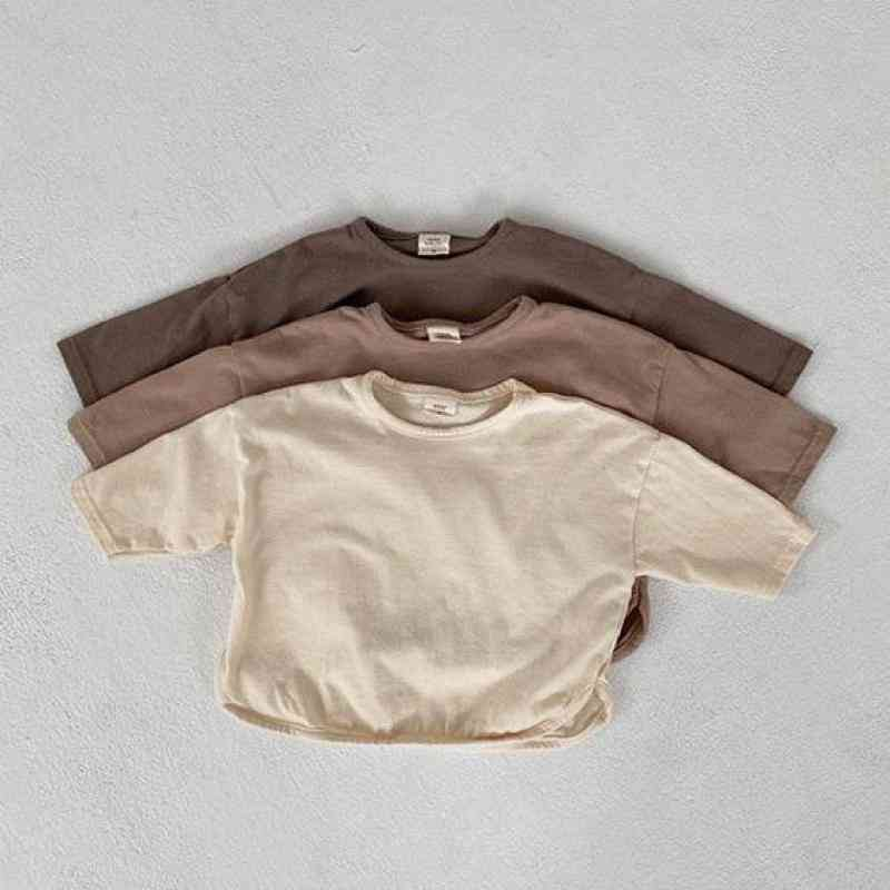 Long Sleeve, Cotton Casual-t Shirt For Infants