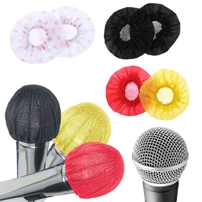 50pairs Disposable Non-woven Microphone Cover