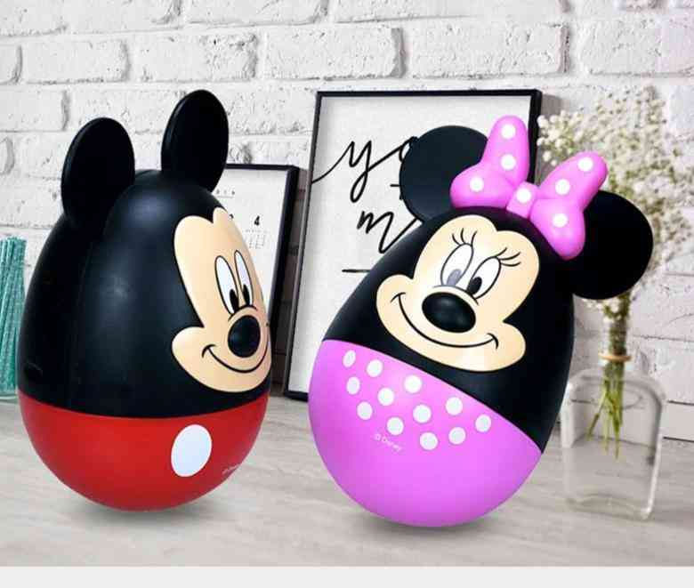 Mickey /minnie Shaped Tumbler- Piggy Bank