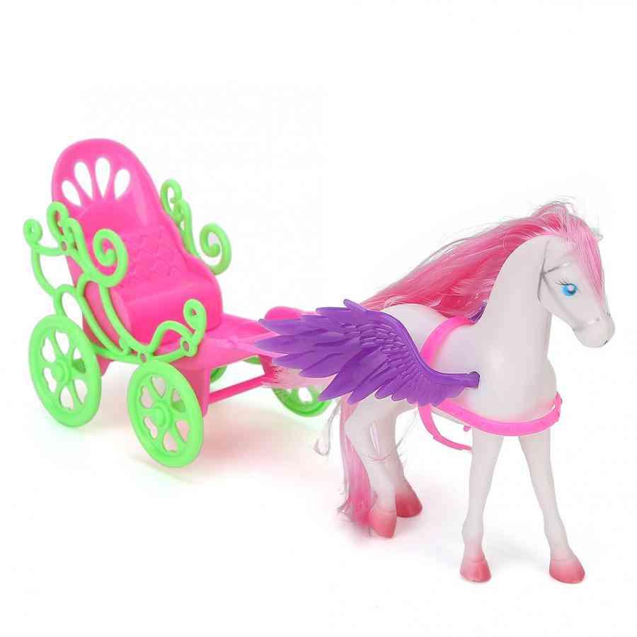 Mini Horse Drawn Cart-pretend Play Toy