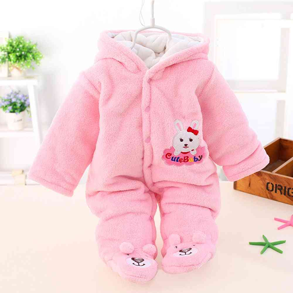 Jackets For Baby, Warm Hooded Overalls