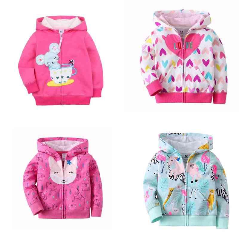 Baby Jacket & Long Sleeve Hooded - Fashion Zipper Cotton Clothing