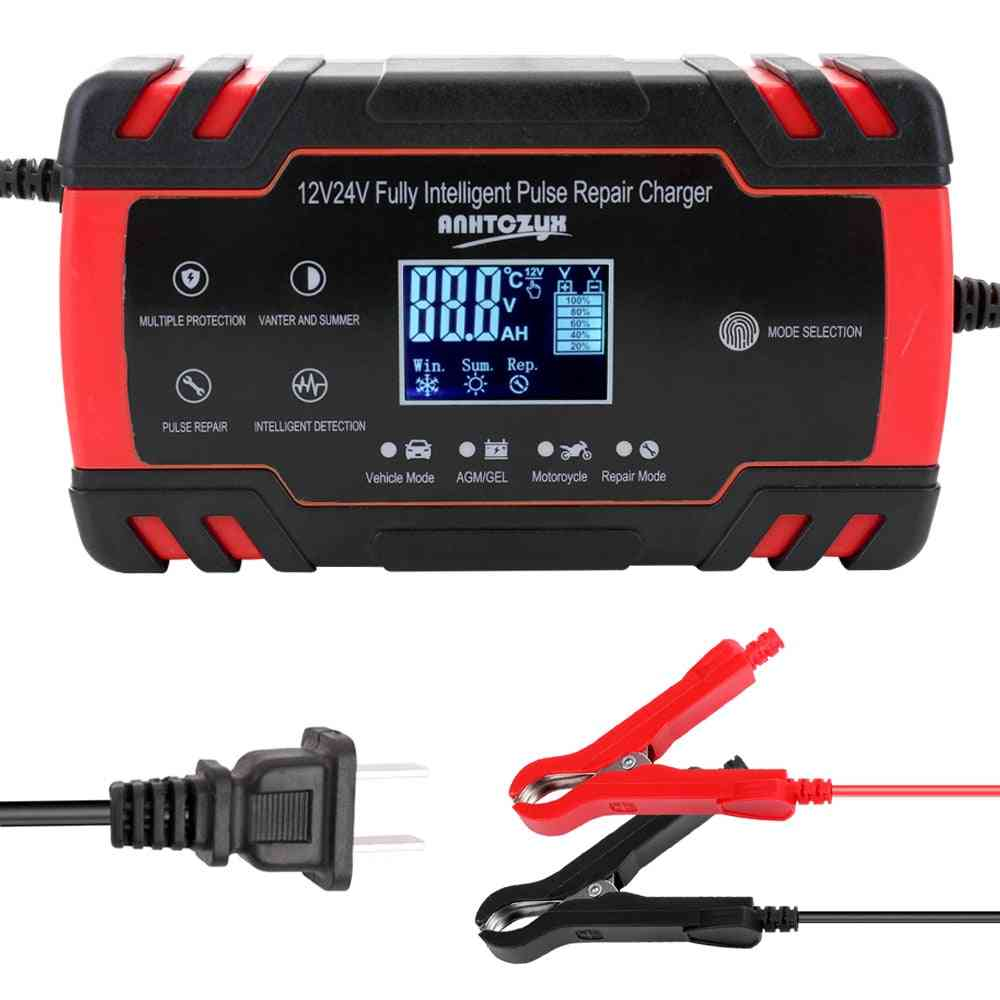 Fully Intelligent Pulse Repair Charger With Digital Display