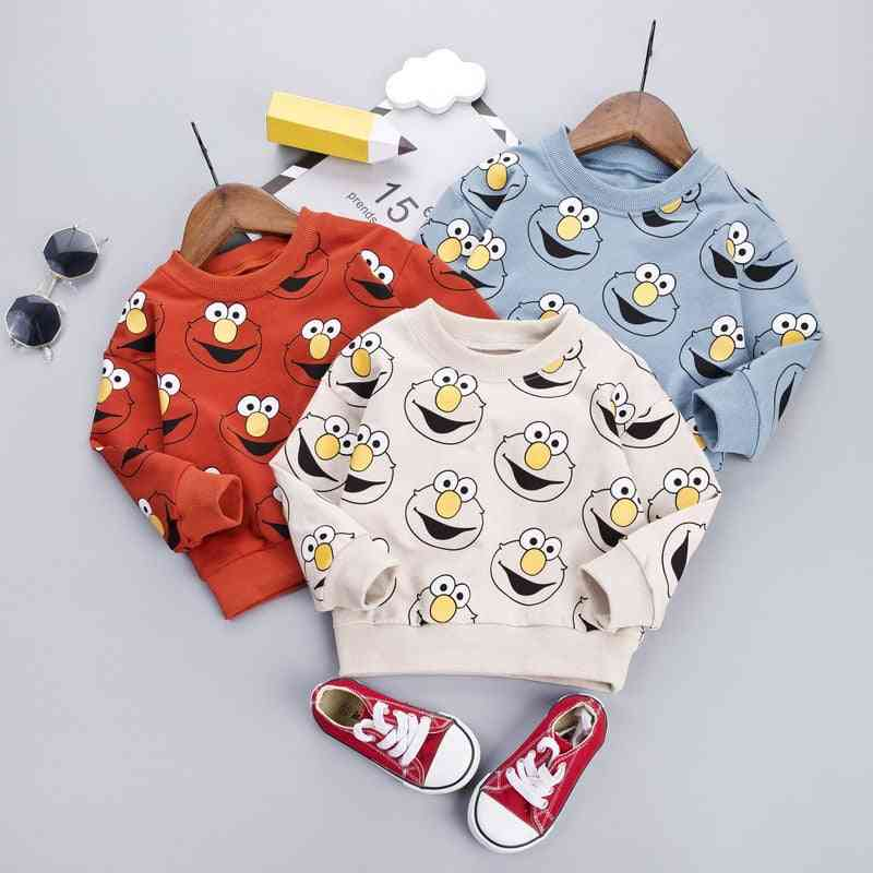 Baby Pullover, Cartoon Pattern Sweatshirts