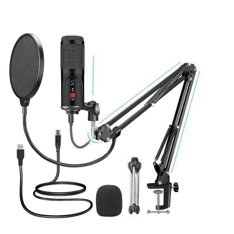 Usb Computer Studio Microphone For Pc