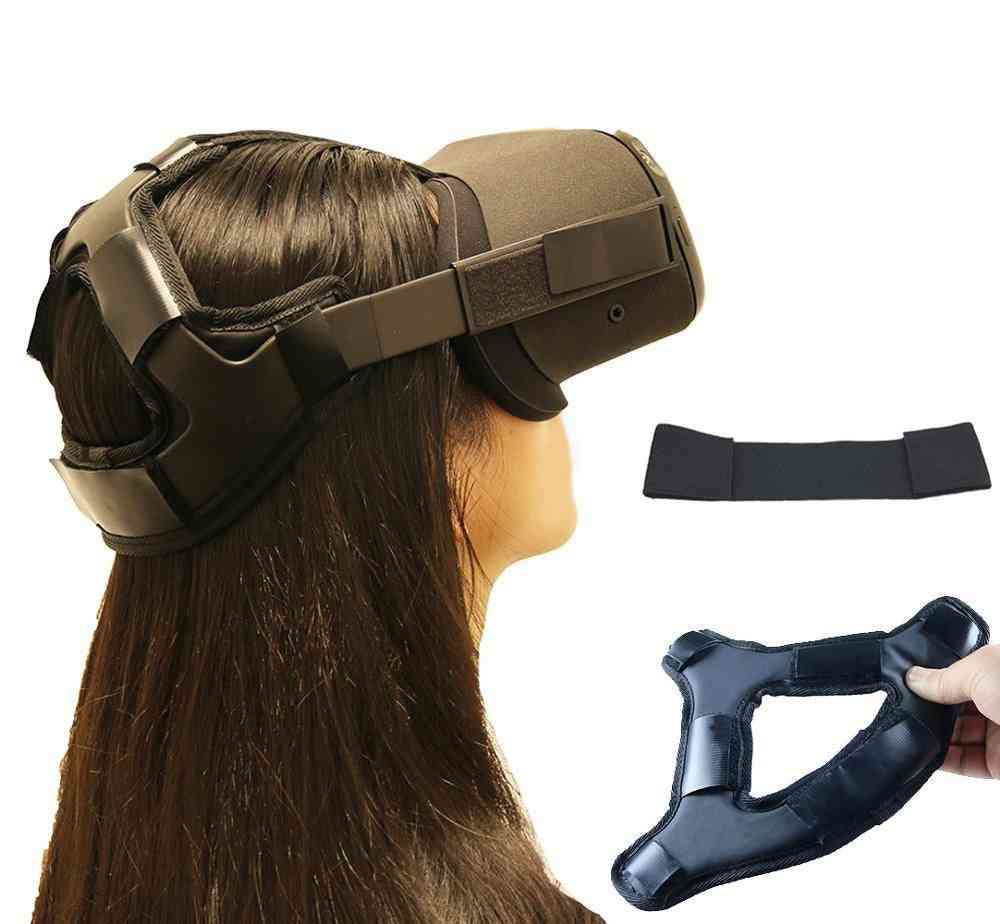 Non-slip, Head Pressure-relieving Strap For Vr Oculus Quest Glasses