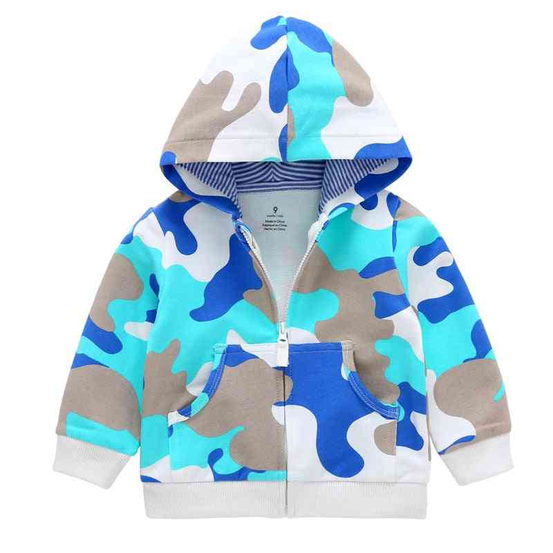 Baby Long Sleeves Winter Hooded Sweatshirt