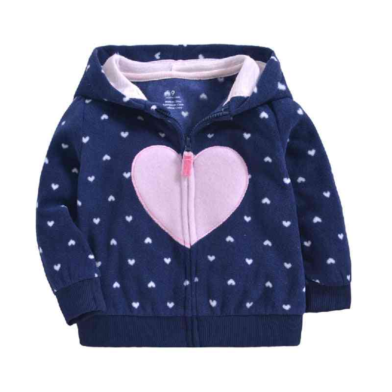 Autumn & Winter Warm Hooded Jacket For Baby Boy/ Clothing
