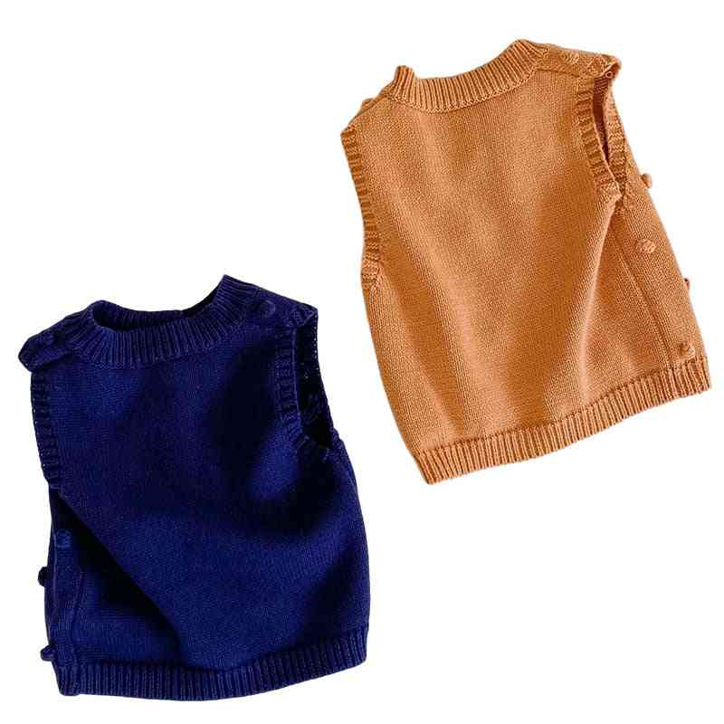 Baby Vest Coat Handmade Clothes For Autumn Outerwear