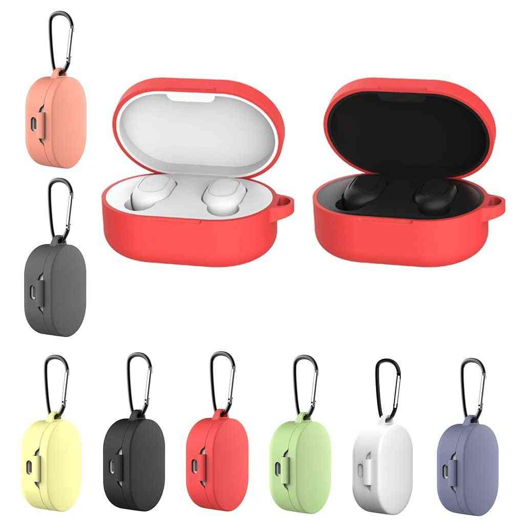 Bluetooth Earphone Silicone Case With Hook