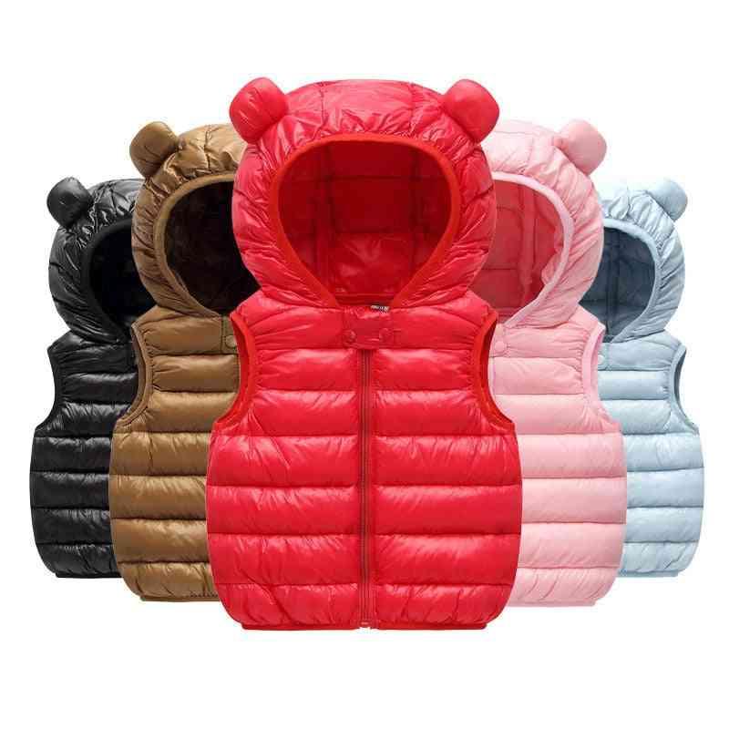 Baby Boy Clothes. Winter Vests- Cotton Hoodies