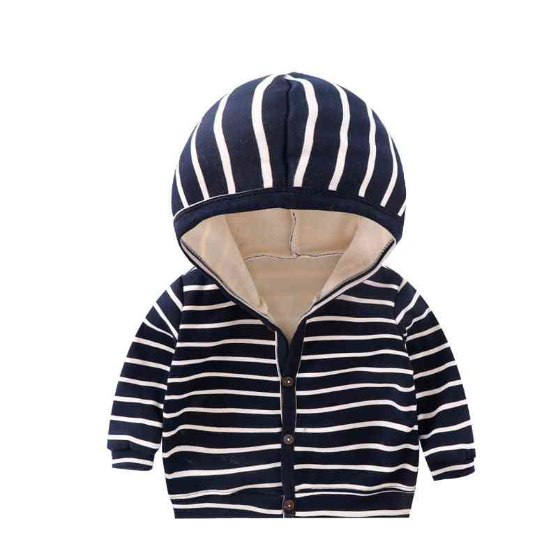 Baby Spring, Autumn Striped Clothes, Long Sleeves Coat Tops, Jacket