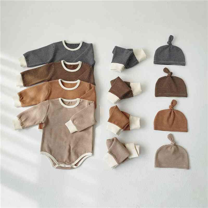 Spring Autumn 0-24m Newborn Baby Pajamas Set