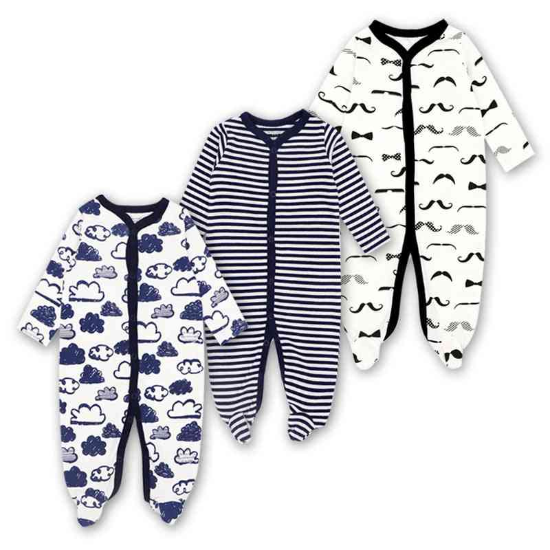 Round Neck, Soft And Comfortable Rompers For Newborn Babies