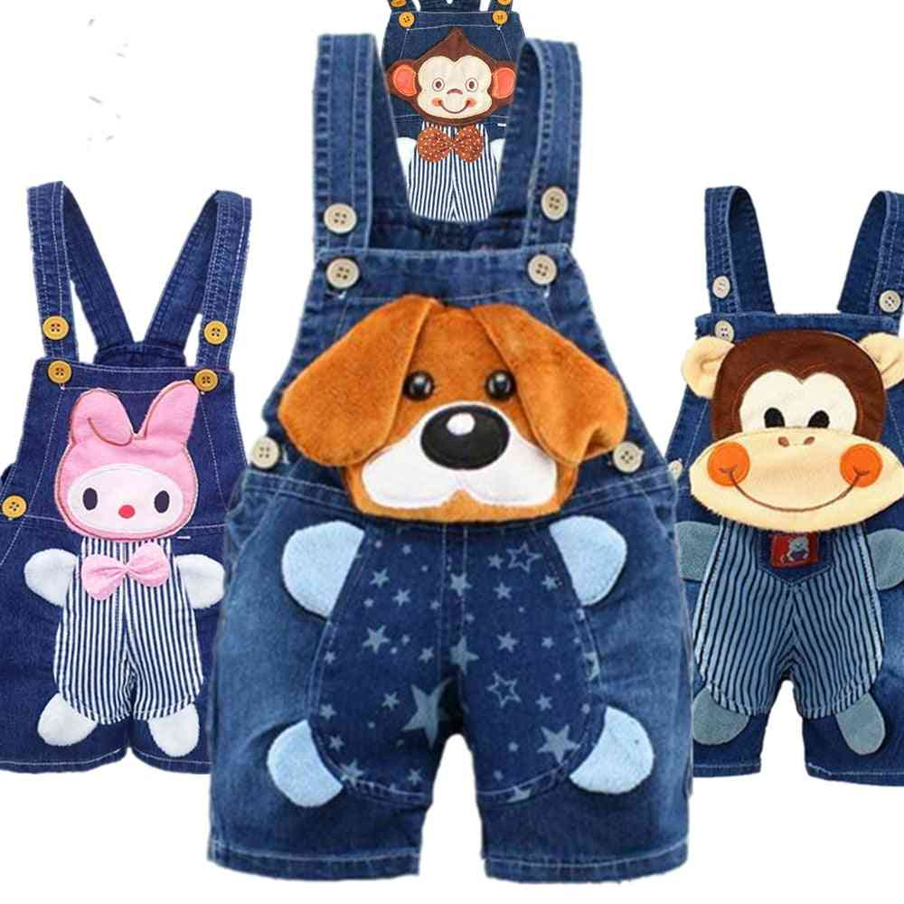 Baby Clothing Jeans -overalls Shorts Toddler Infant Denim Rompers