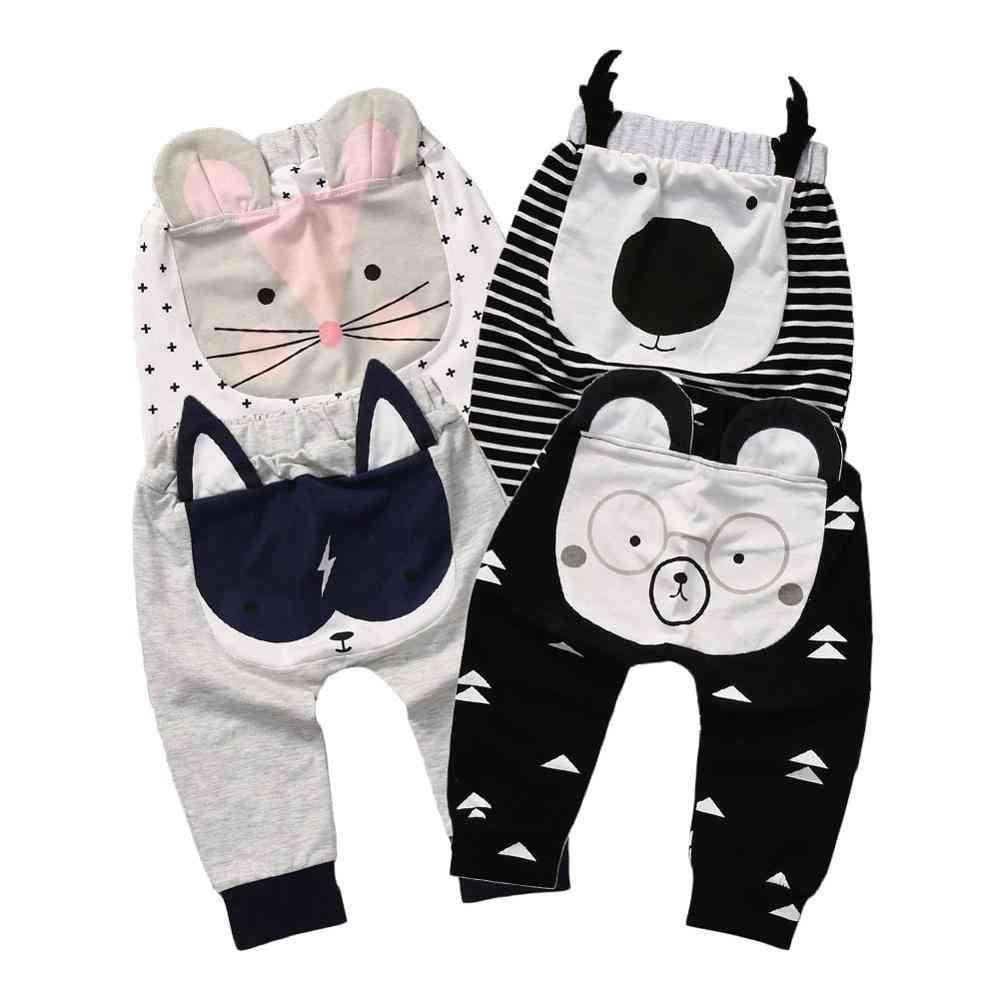 Casual Toddler Bottoms Pants- Hot Infant Cartoon Harem Trousers