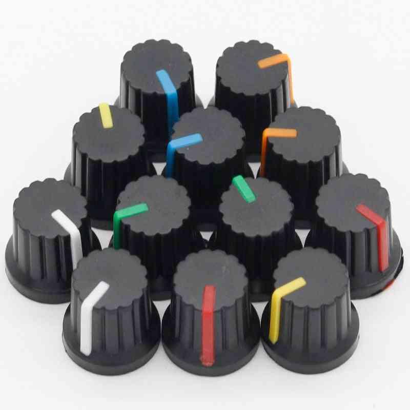 Plastic Threaded, Potentiometer Knobs