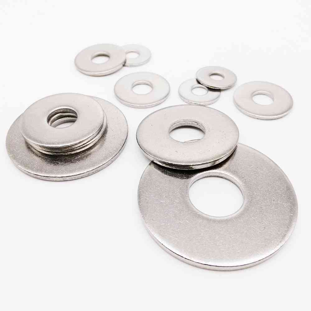 Stainless Steel, Large Size-wider Flat Washer
