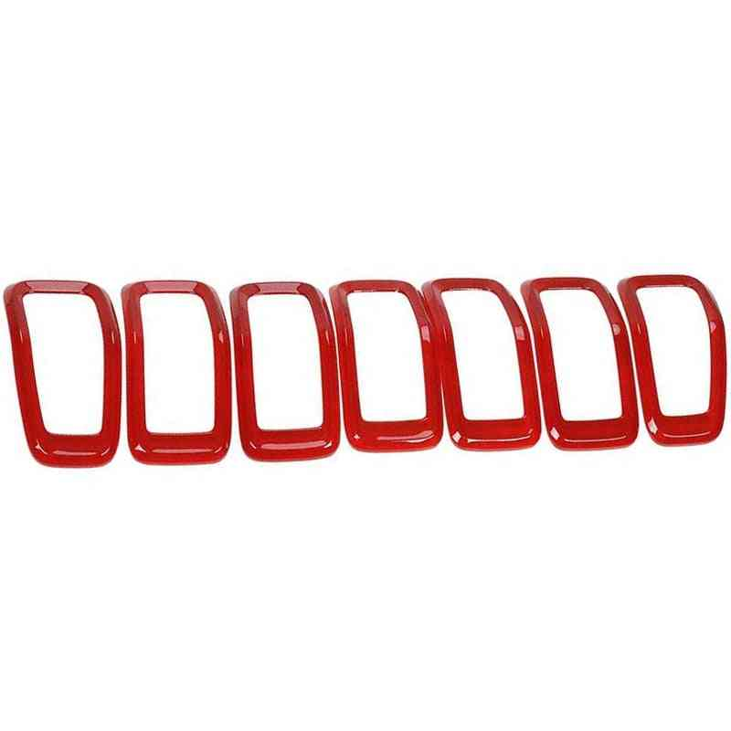 Unique Design, Front Grill Inserts For Jeep Cherokee