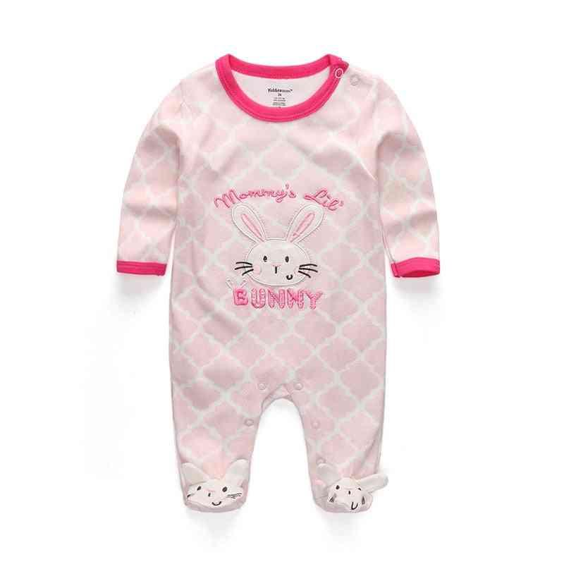 Newborn Baby Sleepwear Sleepers Infant Long Sleeve Pajamas Clothes