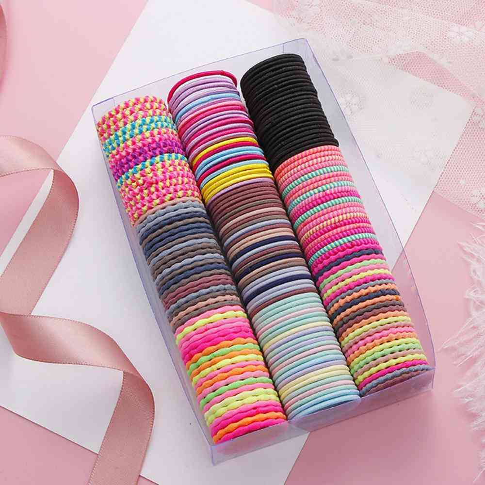 Colorful Elastic Hair Bands/girls