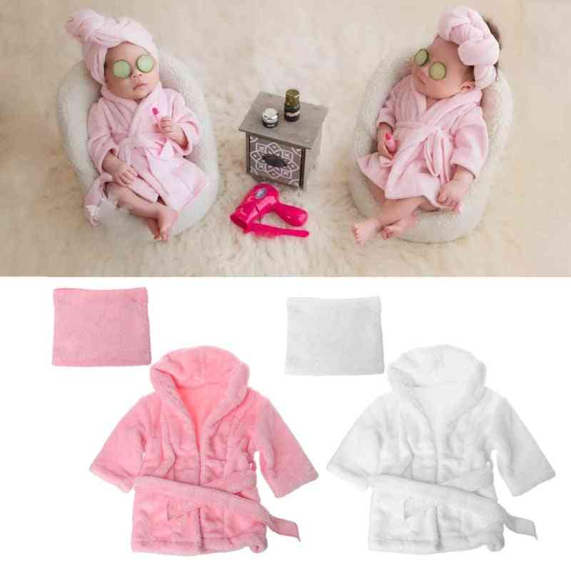 Super Soft Bathrobe And Towel For Babies